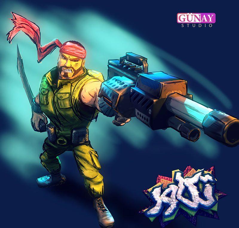 بازی تکاور, استودیو گونای, بازی جنگ, بازی موبایل Takavar android game,