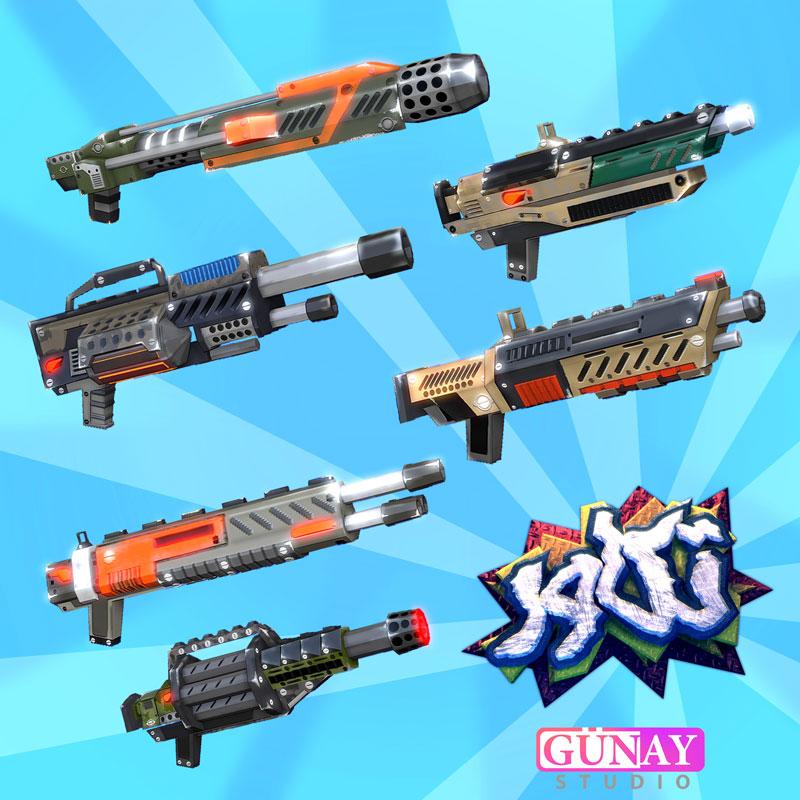 سلاحهای بازی تکاور